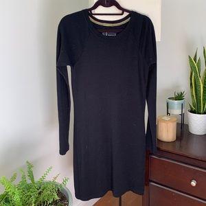 Smartwool black merino wool dress